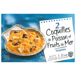 Celtigel coquille de poisson et fruits de mer x2 -180g