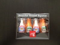 Chocolats fourres tequila et vodka ABTEY, 12 unites, casier de 108g