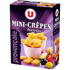 Mini crepes fourrees a la Provencale U, 65g