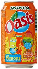 Boisson aux fruits Oasis Tropical - 6x33cl