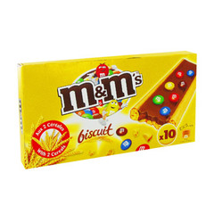 Biscuits M&M's x10 198g