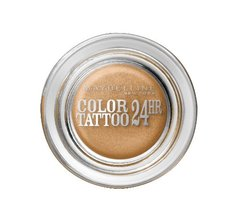 Gemey Maybelline, Eyestudio - Color Tattoo 24hr Eternal Gold 05, le fard a paupieres
