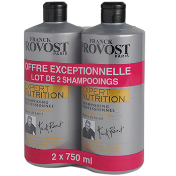 Franck Provost shampooing expert nutrition 2x750ml