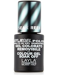 Layla Cosmetics Milano Vernis à Ongles Semi Permanent Soak Off Gel Polish Magneffect Magnétique Wine 10 ml