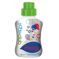 Sirop concentre Energy SODA-CLUB, 500ml