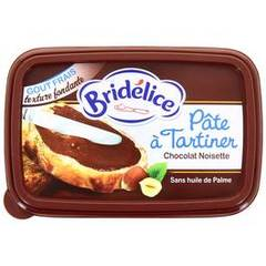 Bridelice pate a tartiner chocolat noisette 200g