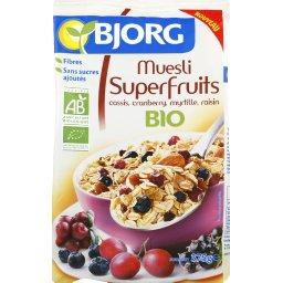 Muesli Superfruits bio