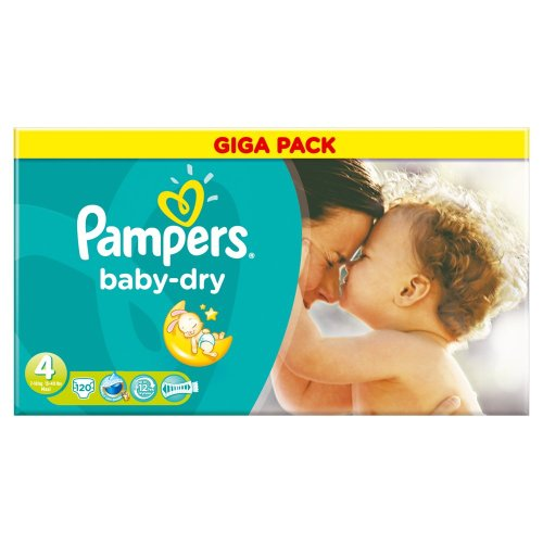 Pampers baby dry duopack change x120 taille4