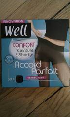 Collant accord parfait WELL, noir, taille 3