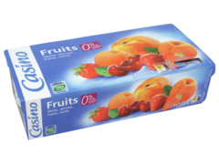 Yaourts aux fruits legers (0% de MG)