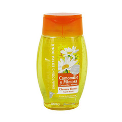 Auchan shampooing extra doux camomille mimosa 300ml