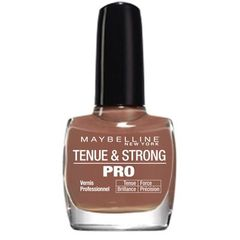 Gemey Maybelline, Tenue & Strong Pro - Vernis a ongles Taupe Couture 786, le vernis a ongles