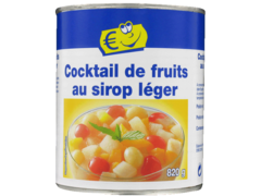 Cocktail de fruit au sirop leger