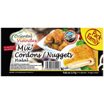 Mix' cordon bleu nuggets halal 2.4KG