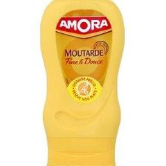Moutarde douce Amora flacon souple 260g