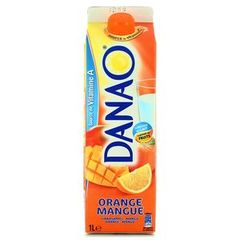 Boisson orange/mangue Danao