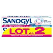 Sanogyl dentifrice dents sensibles 2x75ml