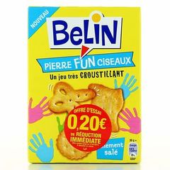 Crackers Pierre Fun ciseaux sale