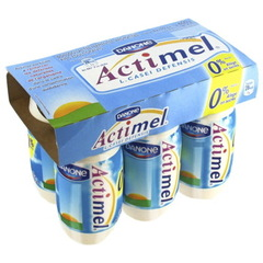 Boisson lactee fermentee aromatisee 0% MG - Actimel