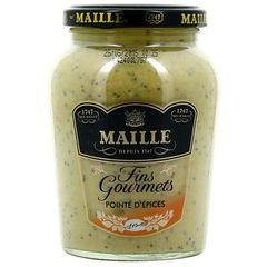 Maille moutarde forte pointe d'épices 340g