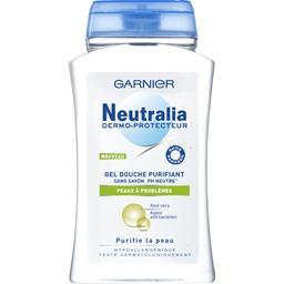 neutralia dermo protecteur douche sans savon gel antibacterien purifie la peau anti. Black Bedroom Furniture Sets. Home Design Ideas