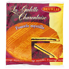 Galette Beurlay Fourree myrtille 300g