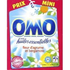 Lessive en poudre fraicheur vivifiante omo 7 doses 560g for Lessive en poudre ou liquide