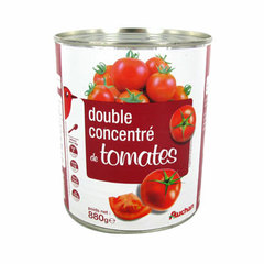 Auchan double concentre de tomates 880g