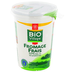 Fromage frais 3.5 %mg bio 500g