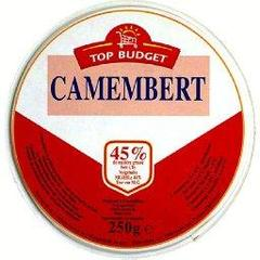 Camembert 20%MG, le fromage de 250g