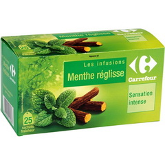 Infusion Reglisse Menthe