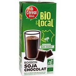 Boisson au soja et chocolat Bio & Local CEREAL BIO, 1l