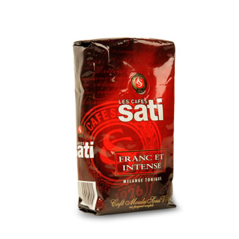 Cafe moulu franc et intense SATI, 250g