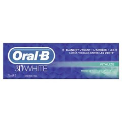 Oral B dentifrice 3D white vitalize 75ml