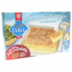 Parmentier poisson Cote Table 800g