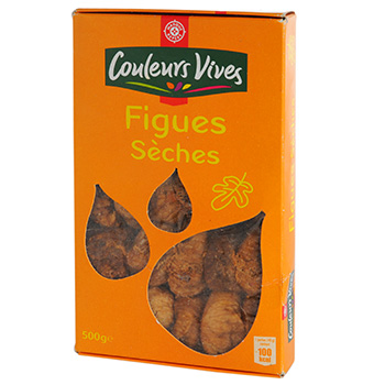 Figues sechees Couleurs Vives 500g