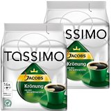 Tassimo Jacobs Krönung, Rainforest Alliance Vérifié, Lot de 2, 2 x 16 T-Discs