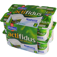 Actifidus nature Delisse 12x125g