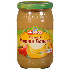 Compote Andros pomme banane 750g