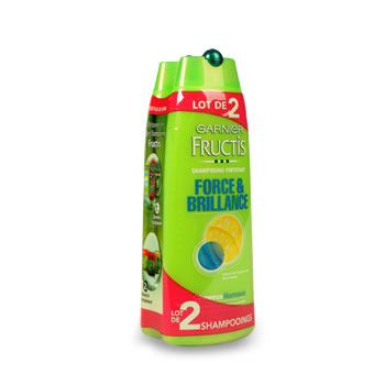 Fructis Shampooing cheveux normaux 2X250ml