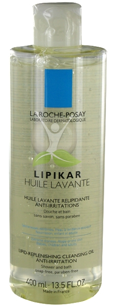 La roche posay Lipikar huile lavante relipidante anti-irritations 400ml