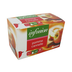 Infusion pomme/cannelle - 20 sachets