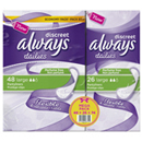 Always protege slips discreet large x58