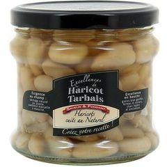 Excellences de haricots tarbais cuits au naturel 380g