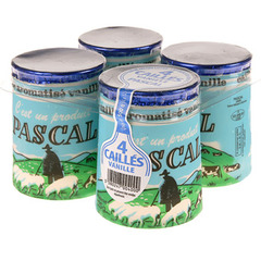 Cailles Vanille Pascal 4x125g