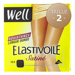 Collant satine Elastivoile WELL, taille 2, ibiza