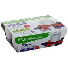 WEIGHT WATCHERS FINESSE 0% MG SUR LIT DE FRUITS ROUGES 100GX4
