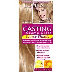 Coloration blonde ton sur ton