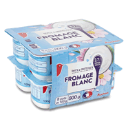 AUCHAN : Fromage blanc