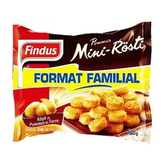 Findus mini rosti 780g